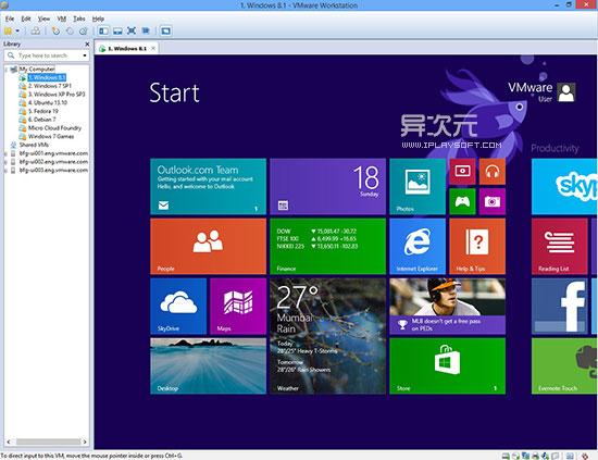 VMWare 安装 Windows 8.1