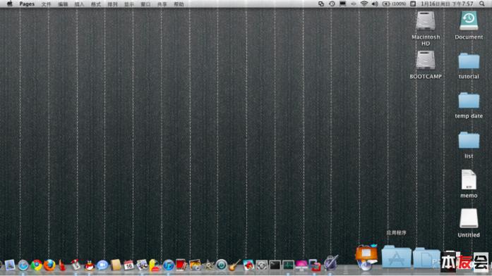 Macbook以及Mac pro中,用u盘安装win7图文教程