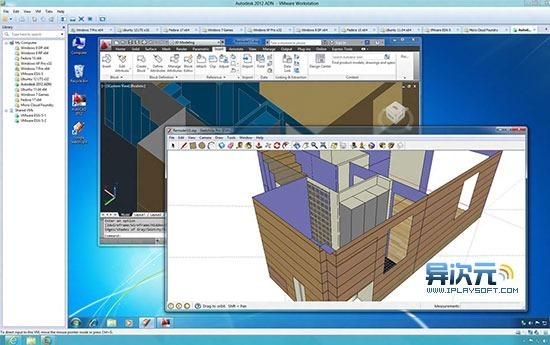 VMware Workstation AutoCAD