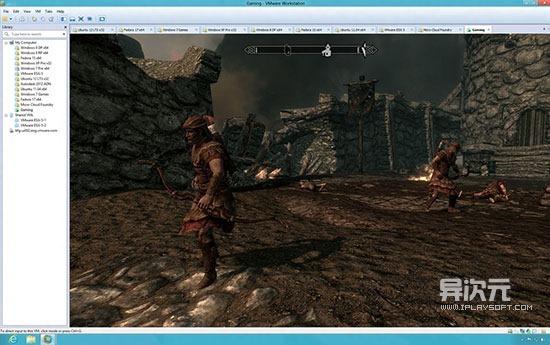 VMware Workstation 3D游戏
