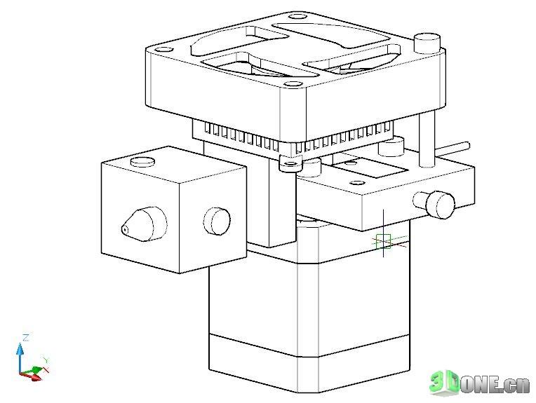 DIY全金属框架的3D打印机(更新软件)