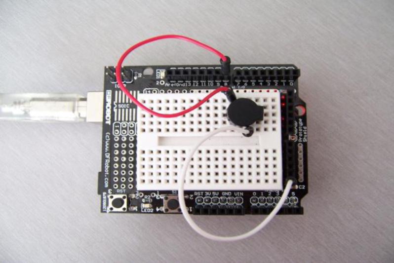 Arduino 入门到精通 蜂鸣器发声