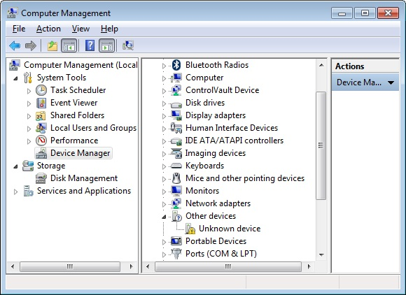 The sam-ba 2.13 or later provides USB signed driver for Windows(XP, Viata, Win7, Win8)