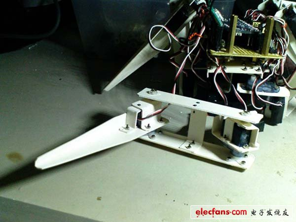 工程师DIY巨献:教你制作六足移动机器人(多图)