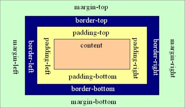 CSS盒子模式