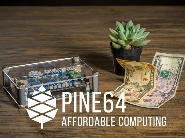 99元的Pine A64 64位微型单片电脑众筹170多万美元
