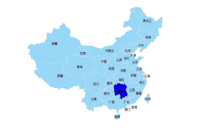 raphael.jsdemo:使用raphael.js绘制中国地图
