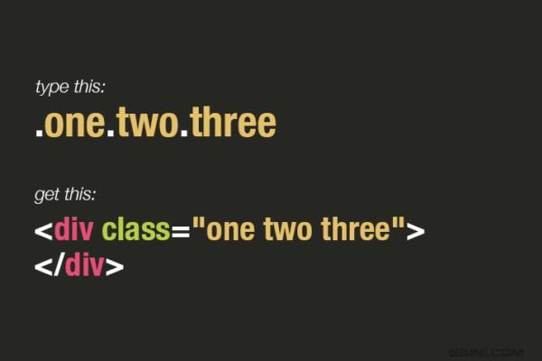 sublime text 中Emmet8个常用的技巧