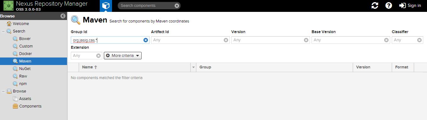 Nexus3.0.1+Maven的使用