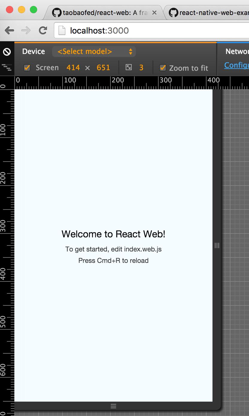 三个步骤将你的 React Native 项目运行在 Web 浏览器上面