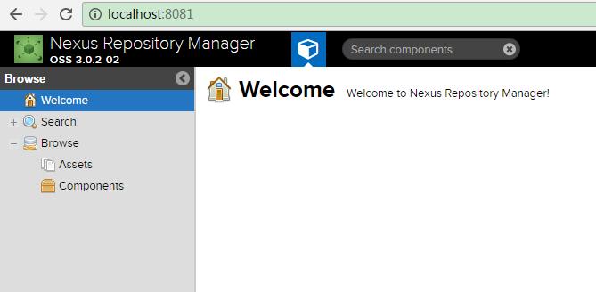 nexus 社区版3.0.2部署、访问