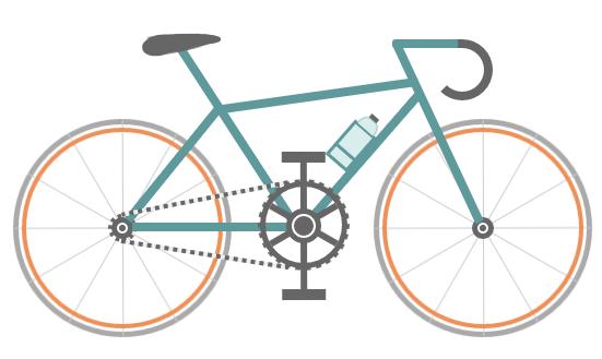 纯CSS3自行车 CSS3写轮眼