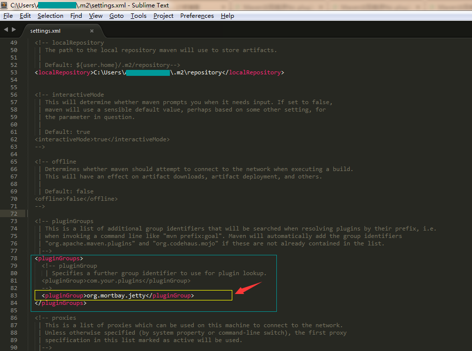 Maven出现错误No plugin found for prefix 'jetty' in the current project